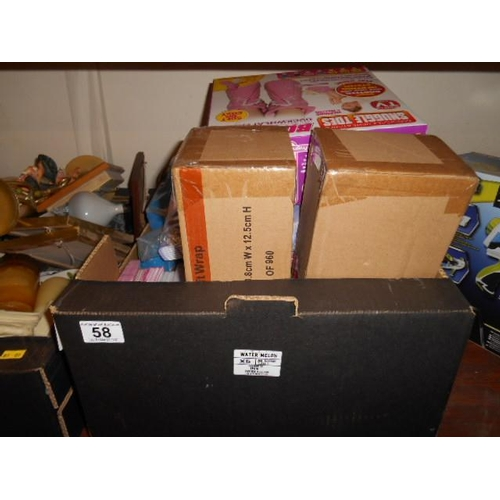 58 - Box of miscellaneous giftware...
