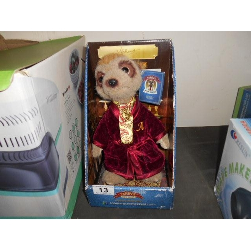 13 - Collectable boxed Meerkat...