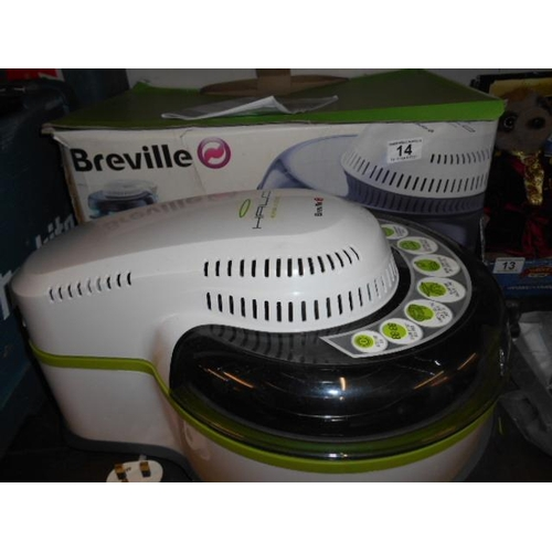 14 - Breville as new health fryer...