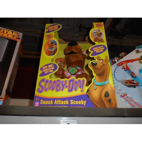 2 - Interactive soft Scooby Doo toy- as new...