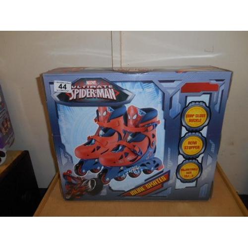 44 - Spider Man skates- as new...