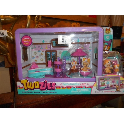 57 - Twozies toy- as new...