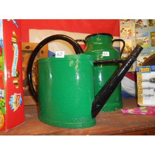 60 - Bargeware vintage watering can...