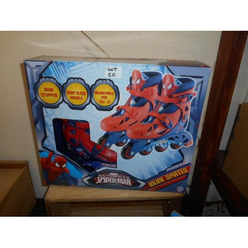 50 - Spiderman Skates...