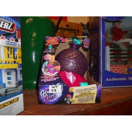 58 - Girls wish granter toy...