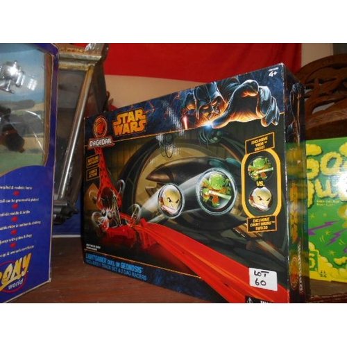60 - Star Wars dueling light game...