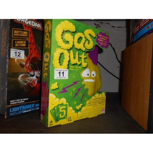 11 - As new Gas Out game...