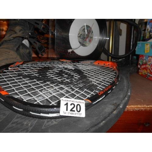 120 - Dunlop Venum racket...