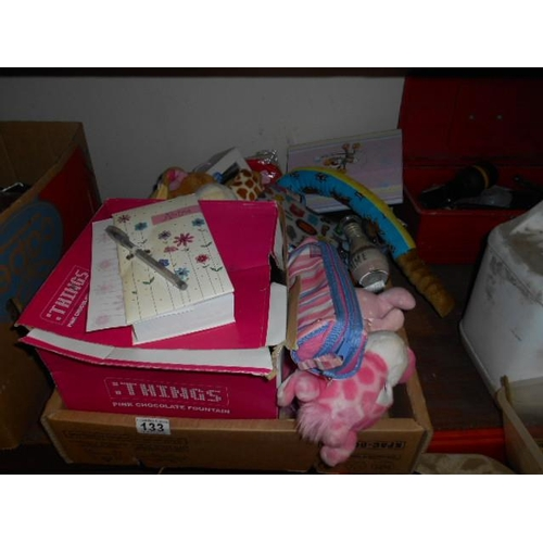 133 - Selection of child's bric and gift...