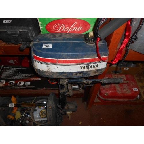 139 - Yamaha outboard motor...