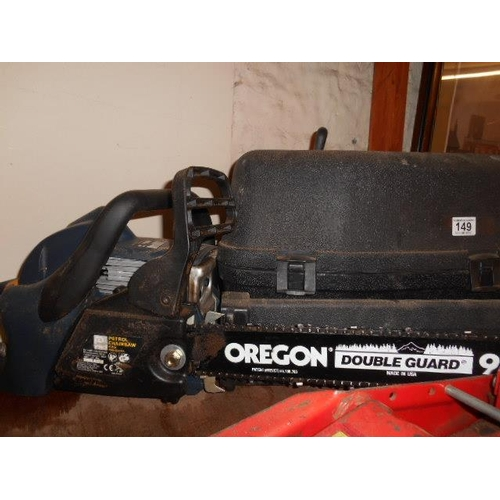 149 - Power Pro petrol chainsaw and case...