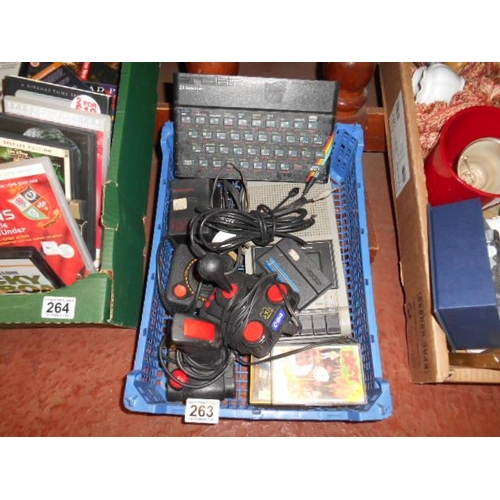 263 - Retro 2 x Spectrum + all accessories...