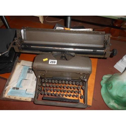 269 - Vintage typewriter...