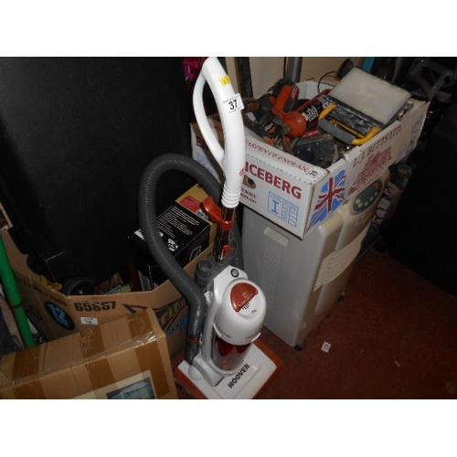 37 - Upright Hepa Filler hoover...