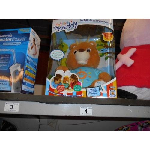 4 - As new interactive teddy bear...