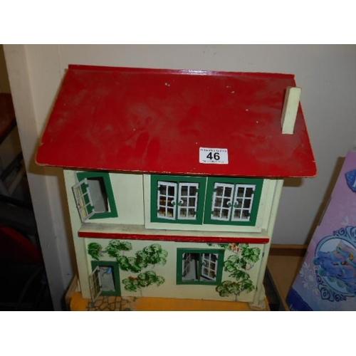 46 - Retro dolls house...