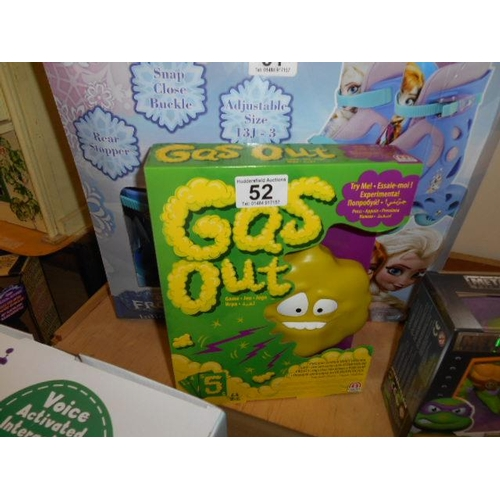 52 - As new Gas Out game...