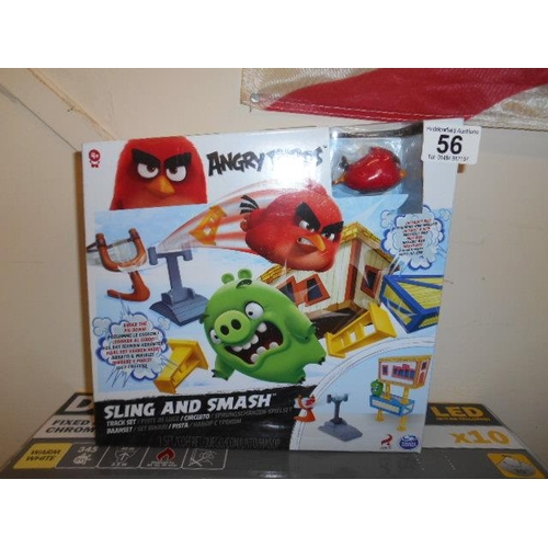 56 - As new Angry Bird smash toy...