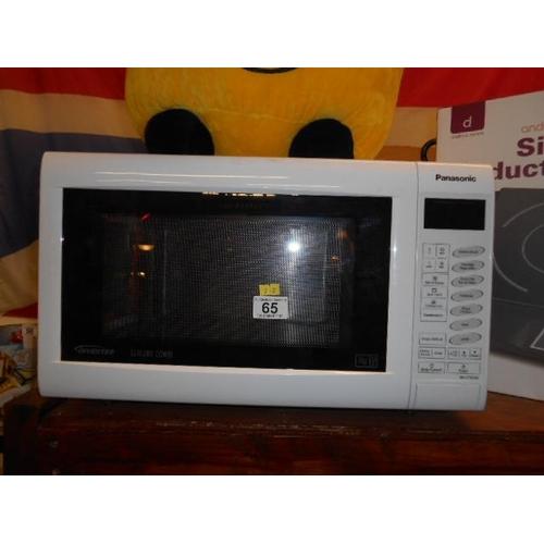 65 - Panasonic slim combi microwave...