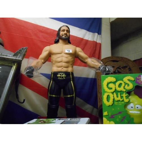 69 - WWE Seth Rolling big figure...