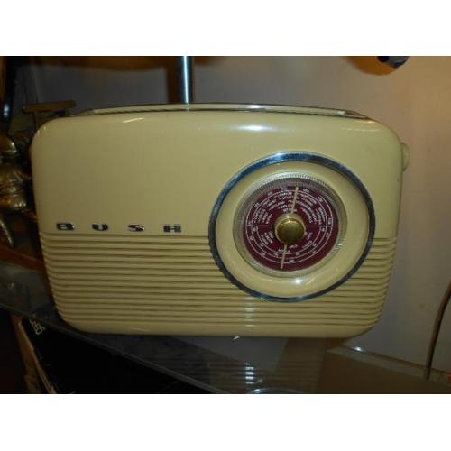 2 - Retro Bush radio VGC- working order...
