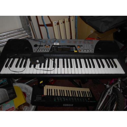 37 - 2 Yamaha keyboards...