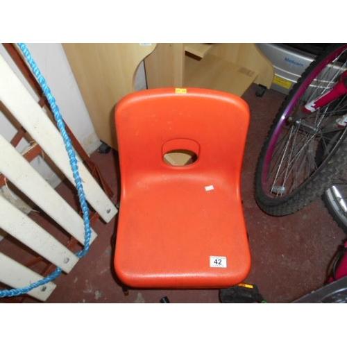 42 - Retro child's chair...
