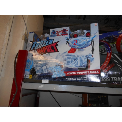 1 - Boxed as new car racing track...