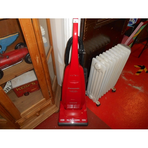 40 - Panasonic upright vacuum...