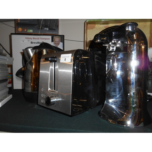8 - Clean toaster, kettle and tin opener...
