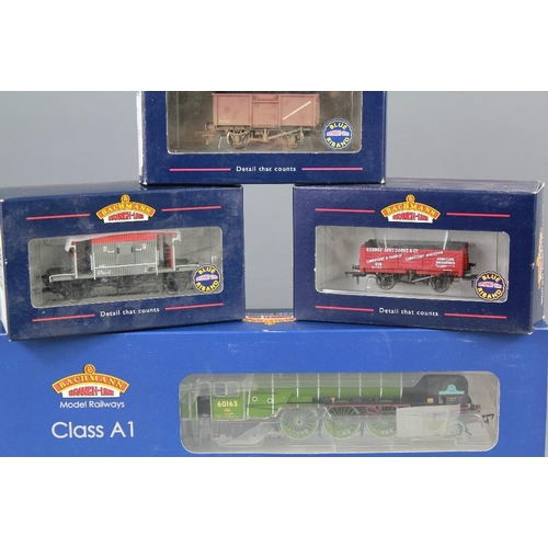 11 - Model Railway Bachmann. This lot includes a boxed Bachmann Class A1 Class 60163 'Tornado' Apple Gree...