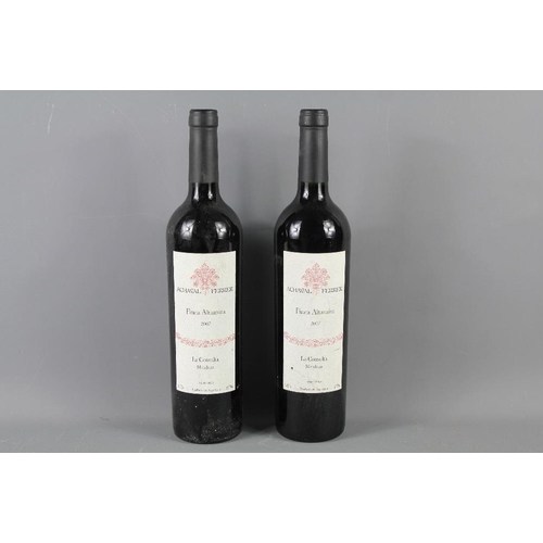 47 - Two Bottles of Argentinian Wine Achaval Ferrer Finca Altamira 2007 vintage. (2) £90+...