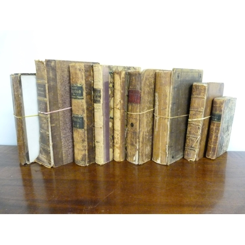 28 - <strong>HILL AARON.</strong> The Tragedy of Zara. Eng. frontis. 1769. Bound with other plays in defe...