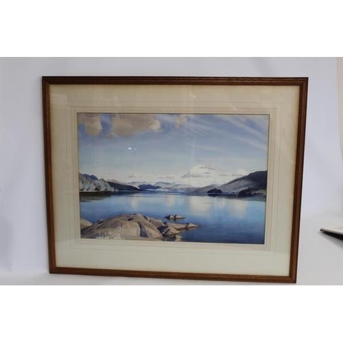 371 - WILLIAM HEATON COOPER (1903-1995).Coniston.Watercolour.37cm x 54.5cm. Signed.ARR is applicable....