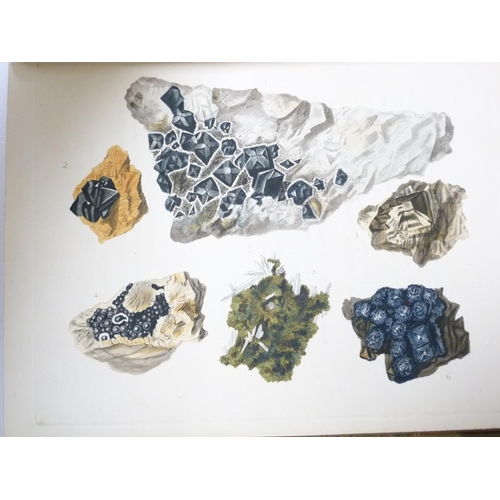 134 - <strong>RASHLEIGH PHILIP.  </strong>Specimens of British Minerals … with General Descriptions of Eac...