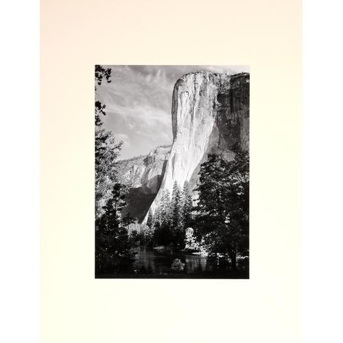285 - ANSEL ADAMS (1902-1884) El Capitan No3 Gelatin silver print, pencil signed lower right, plate size 2...