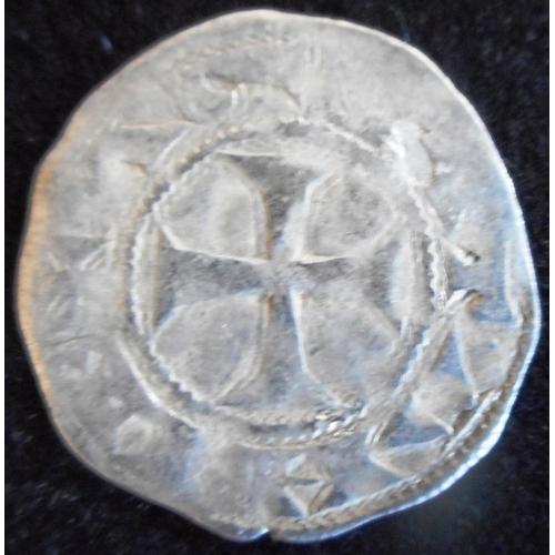 23 - England/France. Richard I (the Lionheart) 1189-99 A.D. Hammered silver denier. Cased....