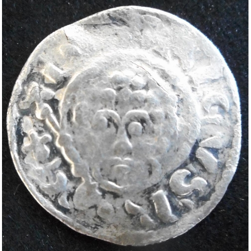 24 - England. Hammered silver penny. John. 1199-1216 A.D. (SC 1351)...