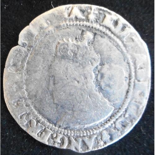 29 - England. Hammered silver sixpence. Elizabeth I. 1573, mm ermine. (SC 2563)...
