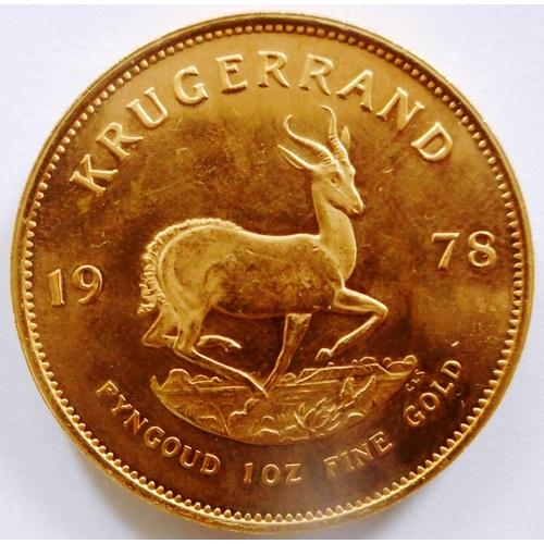 58 - South Africa. Krugerrand. 1978....