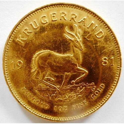 59 - South Africa. Krugerrand. 1981....