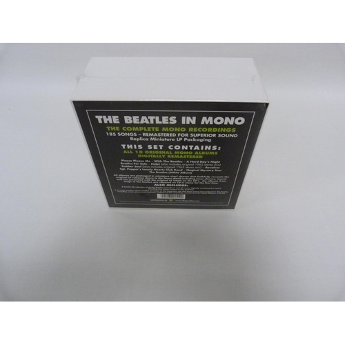 11 - The Beatles in Mono, 10 CD box set. Catalogue number 509996995120. Printed in Japan....