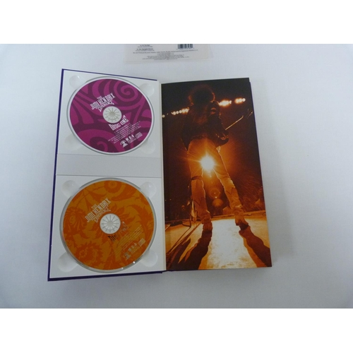 13 - The Jimi Hendrix Experience, 4 CD set in purple velvet sleeve. Manufactured in 2000, made in the EU....