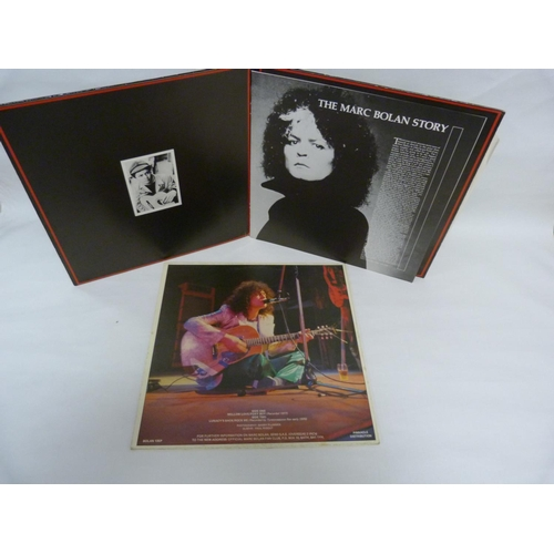 15 - Collection of Marc Bolan and T.Rex LPs to include Mellow Love, Dandy In The Underworld and 4 x T.Rex...