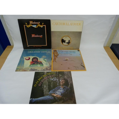 2 - 5 x LPs to include 3 x Cat Stevens also Aphrodite's Child and Ralph McTell....