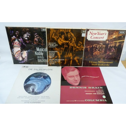 24 - 4 x stereo classical LPs to include Maazel, Kertesz and Boskovsky (all wide band grooved with 'Made ...