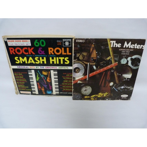 30 - Box set on Roulette, 60 Rock & Roll Smash Hits.  Also LP by The Meters. Both US pressings....