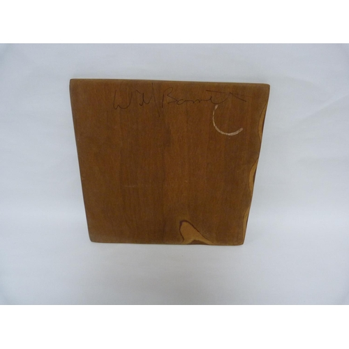 4 - Wild Willy Barrett, Organic Bondage LP with insert, housed in bespoke signed wooden sleeve....
