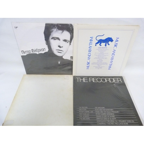 40 - 4 x LPs Peter Gabriel to include 12