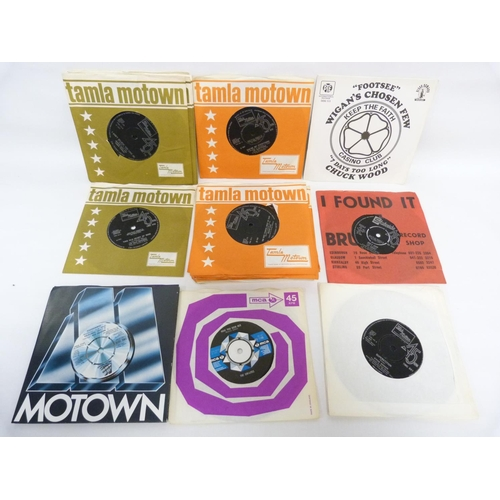45 - 28 x UK original soul singles by Martha Reeves, Marvin Gaye and The Isley Brothers, most in original...
